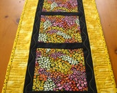RESERVED Flowers and Sunshine Table Runner