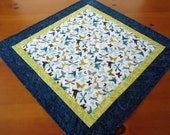 Quilted Table Topper Butterflies