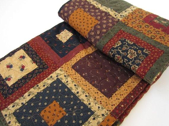 RESERVED - Handmade Quilt Prairie Life