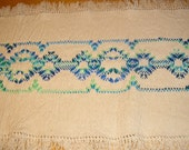 Natural Swedish Weaving Table Runner