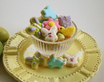 Mini Iced Sugar Cookies - Spring Mix