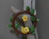 Little Hanging Yellow Bird