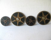 Vintage Movie Reels and Canisters