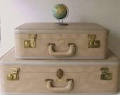 Vintage Suitcases Set