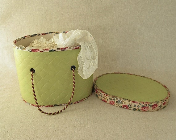 Reserved for Kerry Vintage Sewing Box