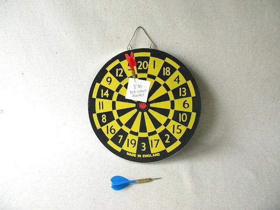 Vintage Dart Board