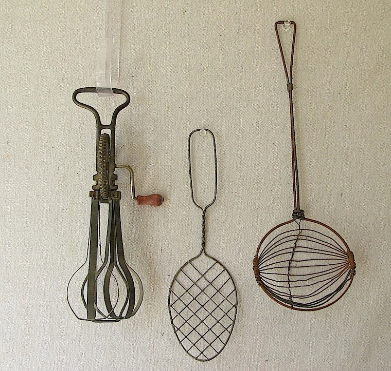 Vintage Kitchen Utensils by PassedBy on Etsy