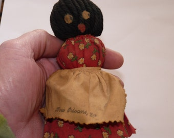 Black Americana Mammy Vintage Bell from New Orleans, LA b1d1