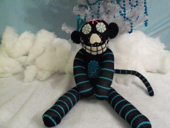 Volta the Dia de los Muertos Sock Monkey SALE