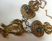 Medieval Brass Necklace Creation