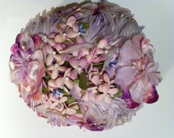 Spring Floral Garden Hat