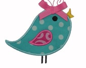 Whirly Bird Applique Machine Embroidery Design INSTANT DOWNLOAD