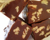 Chocolate Pecan Dreamers Fudge. Approx 3/4 Lb. Reduced sugar, no butter/oil. To Die For Yummy.