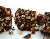 Mint Chocolate Candy Fudge - Chocolate Fudge - Chocolate Candy - Chocolate Mint Candy Fudge