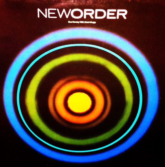 New Order Blue Monday 88/Beach Buggy 12-Inch Single New Wave UK Import