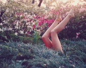 Flowers and legs