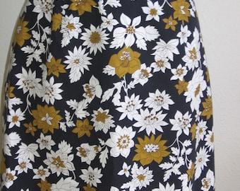 SALE 60s Vintage Cotton skirt (M)