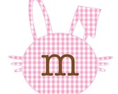 Gingham Easter Bunny Personalized Tee