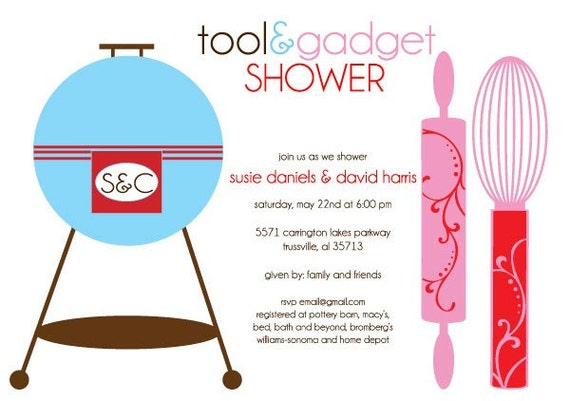 Tool and Gadget Shower