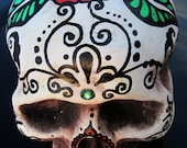 "Dia de los Muertos Day of the Dead life-sized painted foam Sugar Skull Halloween ""Beatriz"""