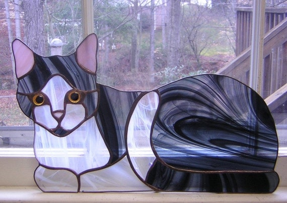 Cat And Dog Stained Glass Patterns