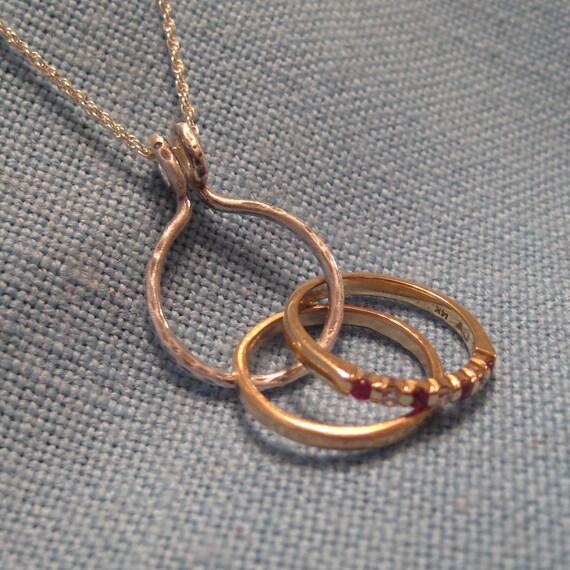 Wedding Ring Holder Necklace