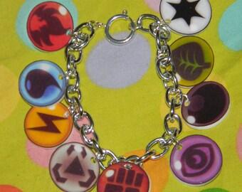 Pokemon Energy Element Charm Bracelet TCG