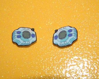 Digimon Adventure Digivice Earrings