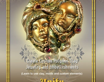 Clay Jewelry and Embellishements PDF Tutorial  DIY Make Your Own