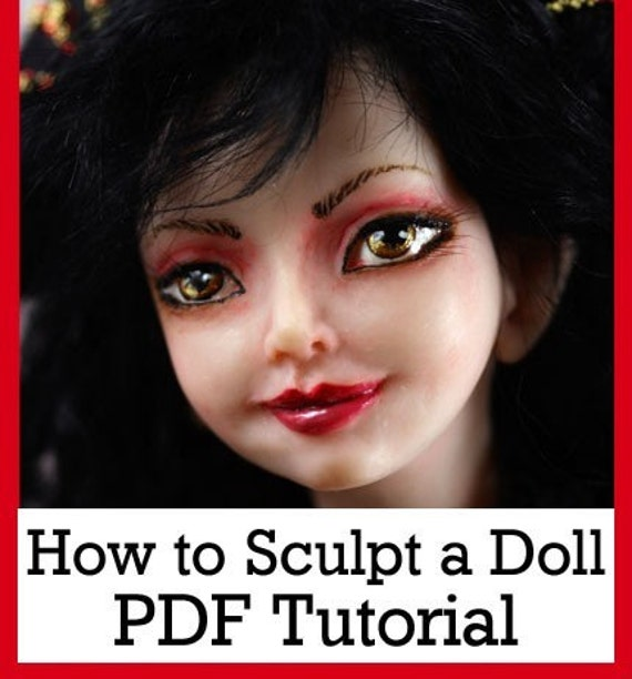 Christmas SALE How to Sculpt a Fairy Doll in polymer clay PDF tutorial Downlodable