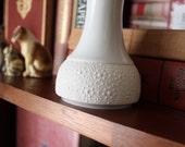 SALE  vintage porcelain Atomic Age  vase
