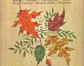 Vintage Hallmark Autumn Parties 1965