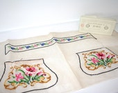Vintage Dollfus-Meig & Cie Embroidery Floss and Bag Pattern