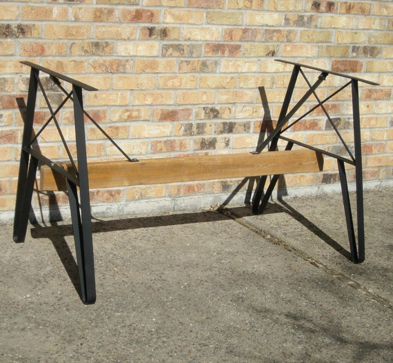 Picnic Table Legs and 2 sets Bench Legs Package by RusticLiving