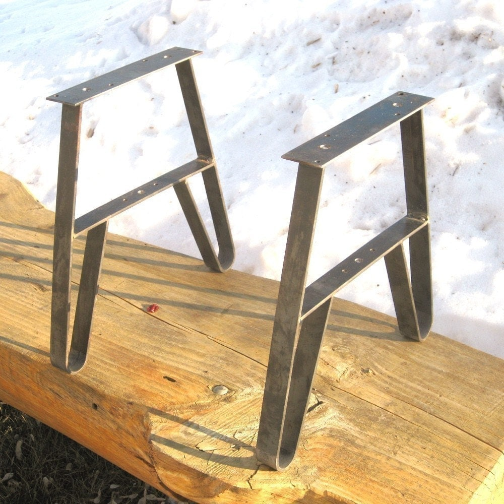 Coffee Table Legs Brass: Metal Furniture Leg Bench Or CoffeeTable Legs Set Of 3