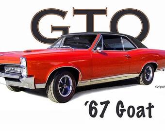 Auto Art T-Shirt '67 GTO Muscle