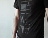 Output:NOISE Black-on-Black Signature Shirt