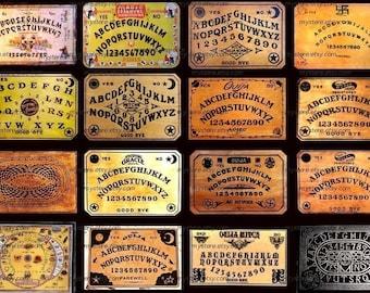 Vintage Ouija Boards - Digital Collage Sheet