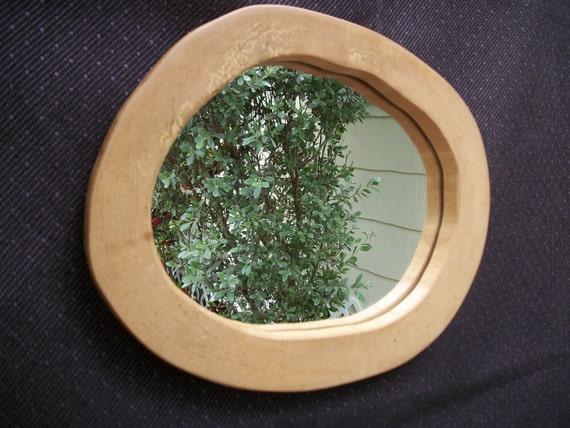 Rustic  Wood Wall Mirror in River Birch