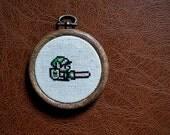 Link 8bit Cross Stitch Sampler