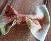 Floral Garden Hair Bow