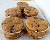 Carob Chip Cookie Sandwiches: All Natural Dog Treats