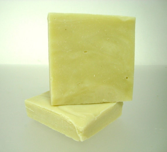 the FRENCH CLAY & AVOCADO facial bar - organic, natural, handcrafted, junk-free cold processed vegan soap (no additives or synthetics)