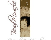 Klimt Mother and Child - PDF Peyote Barcelet Pattern