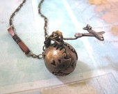 Globe Travel Necklace