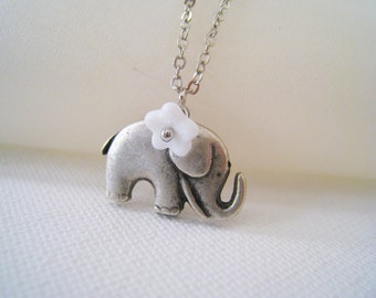 Lovely Elephant Necklace