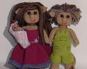 Crochet pattern - troll