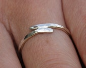 Sterling Silver ring - Near Miss