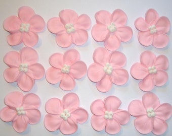 LOT of 100  Sugar Flowers  for Cake Decorating