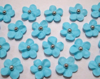 Special Sale LOT of 100 Royal Icing Flowers for Cake Decorating